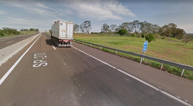 Atropelamento foi registrado no Km 586 da Raposo Tavares
