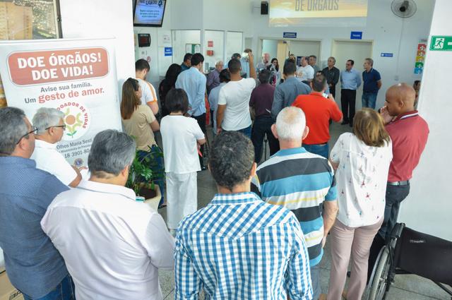 Abertura da campanha aconteceu na Unidade Básica de Saúde 'Cohabão'