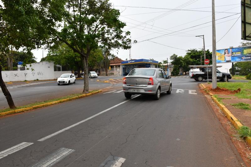 Na rotatória, serão executadas adequações conforme as normas de trânsito